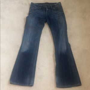 Petite boot leg jeans.